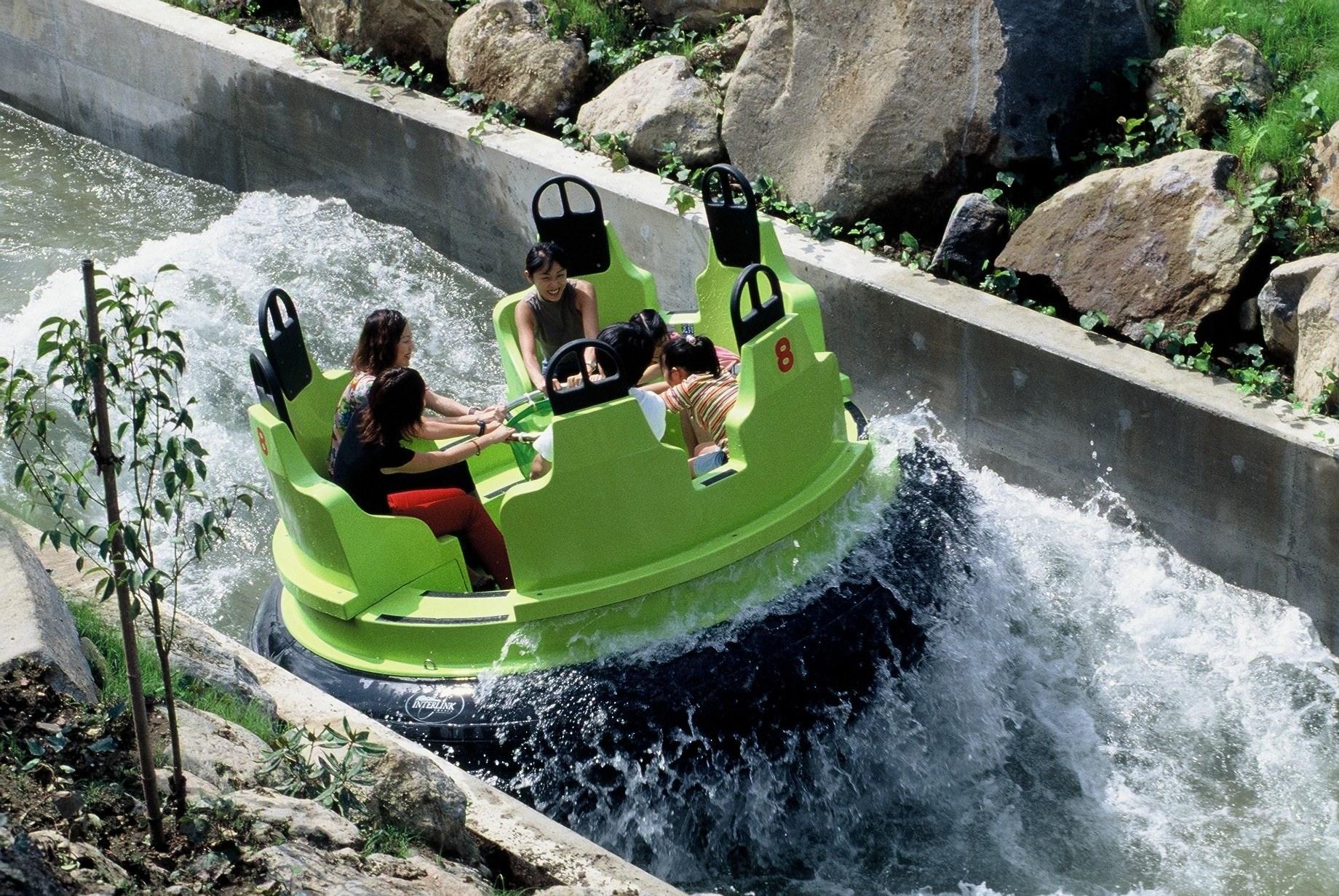 Interlink New Ride : Rapid River River Adventure at Nasu Highland Park