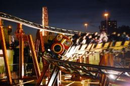 Runaway Train Rollercoaster Interlink Used Ride
