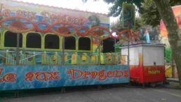 Dragon Kiddie Coaster Interlink Used Ride