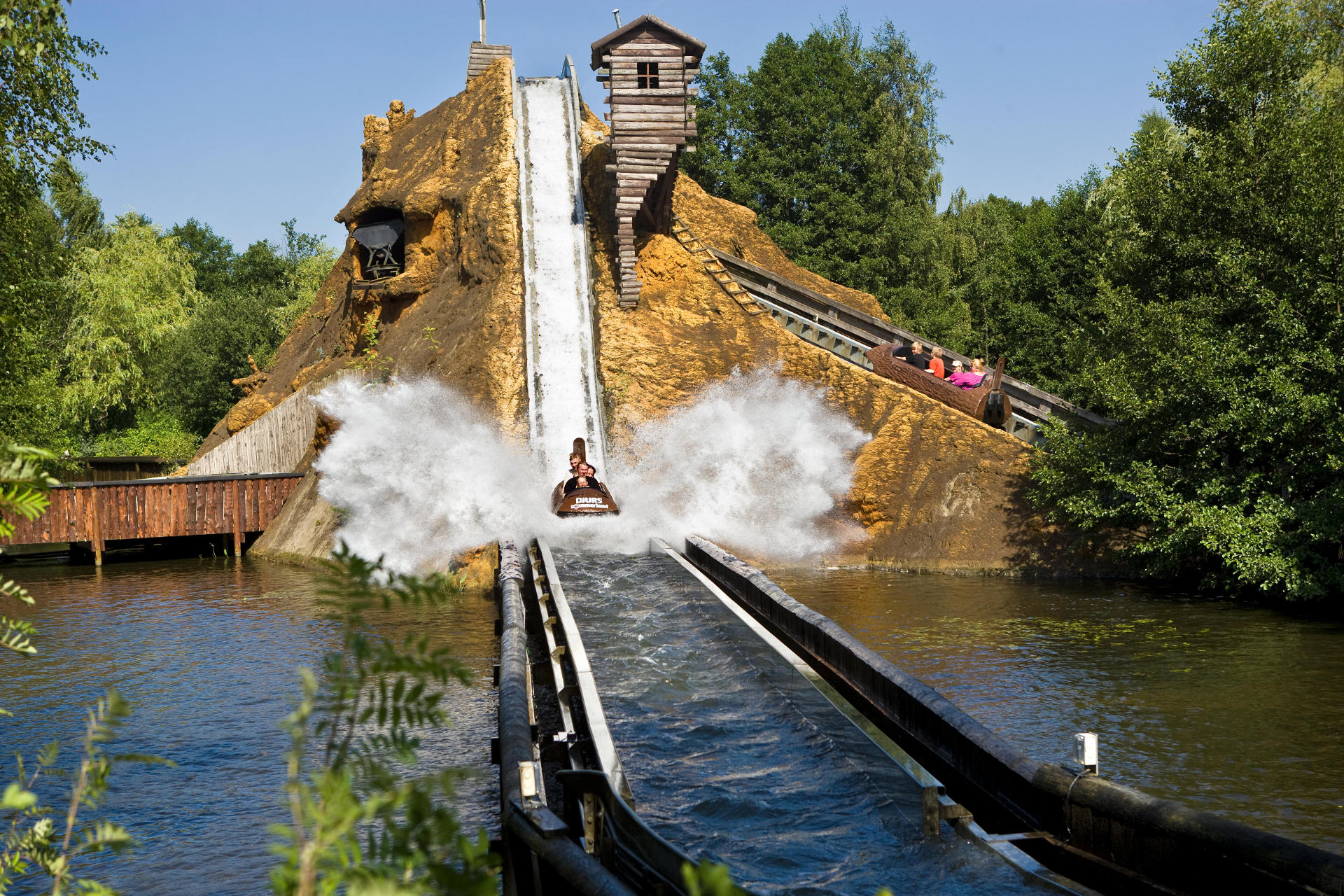 interlink log superflume water ride denmark