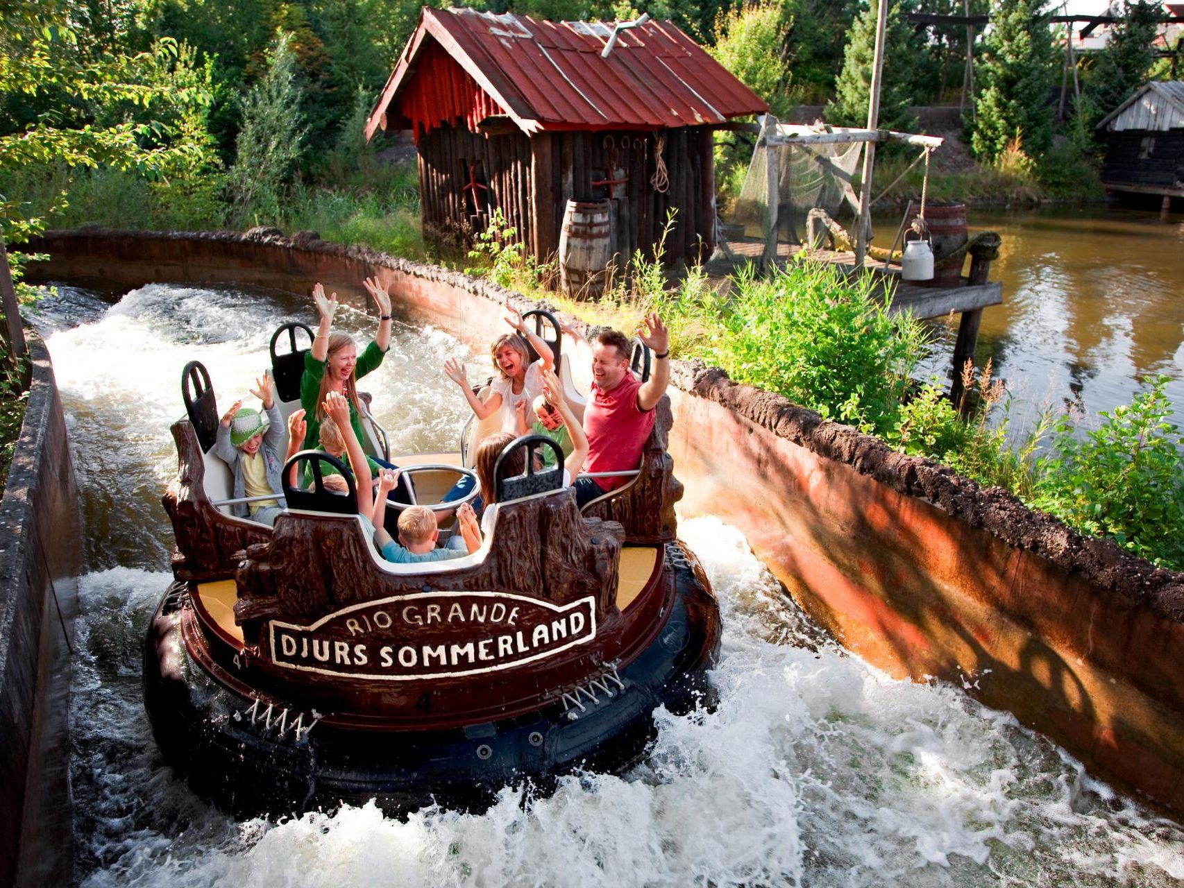 interlink rapid river water ride denmark