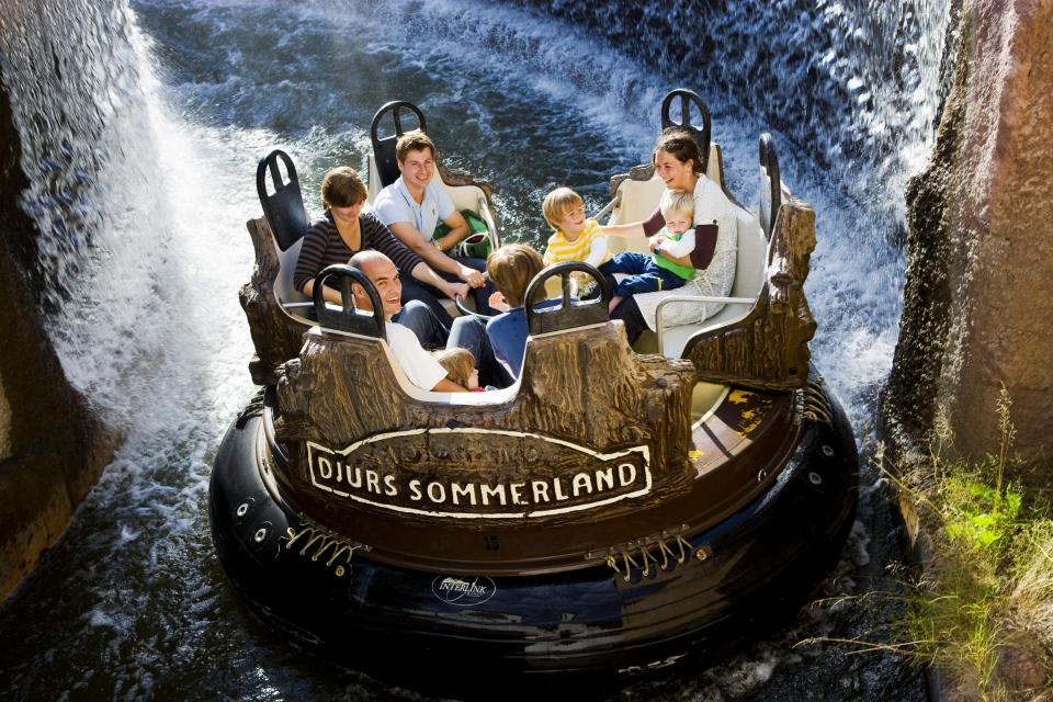 interlink rapid river water ride