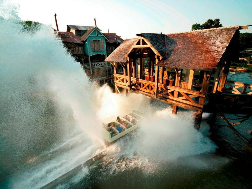 interlink shoot the chute water ride