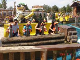 interlink water battle water ride spain