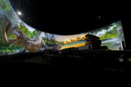 Immersive Superflume inside Tunnel