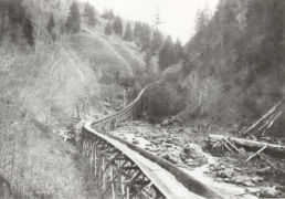 Flume from Sawmill