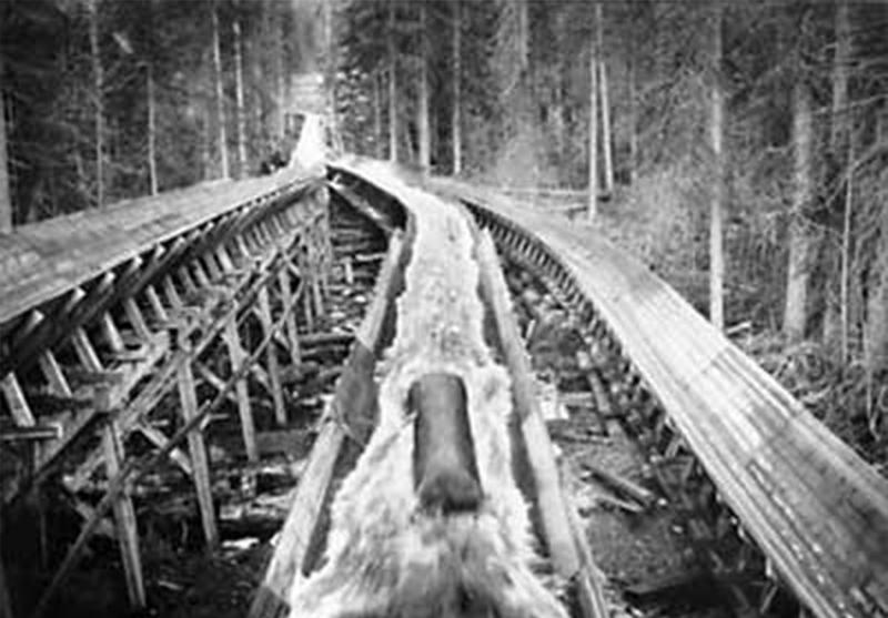 Log Transport Old Fashioned