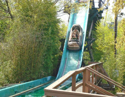 El Aserradero Log Flume Now