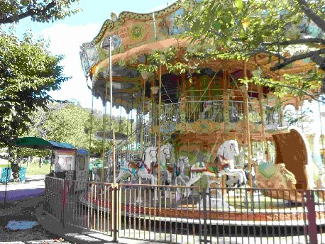 Interlink Used Ride : Double Deck Carousel - Round Ride 93
