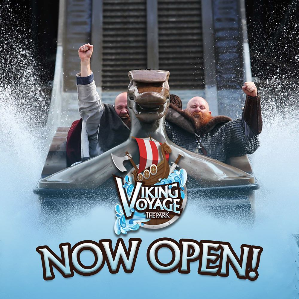 Interlink Project : Superflume Viking Voyage Now Open at Tayto Park