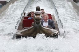 Splash around Viking Voyage Boat at Tayto Park