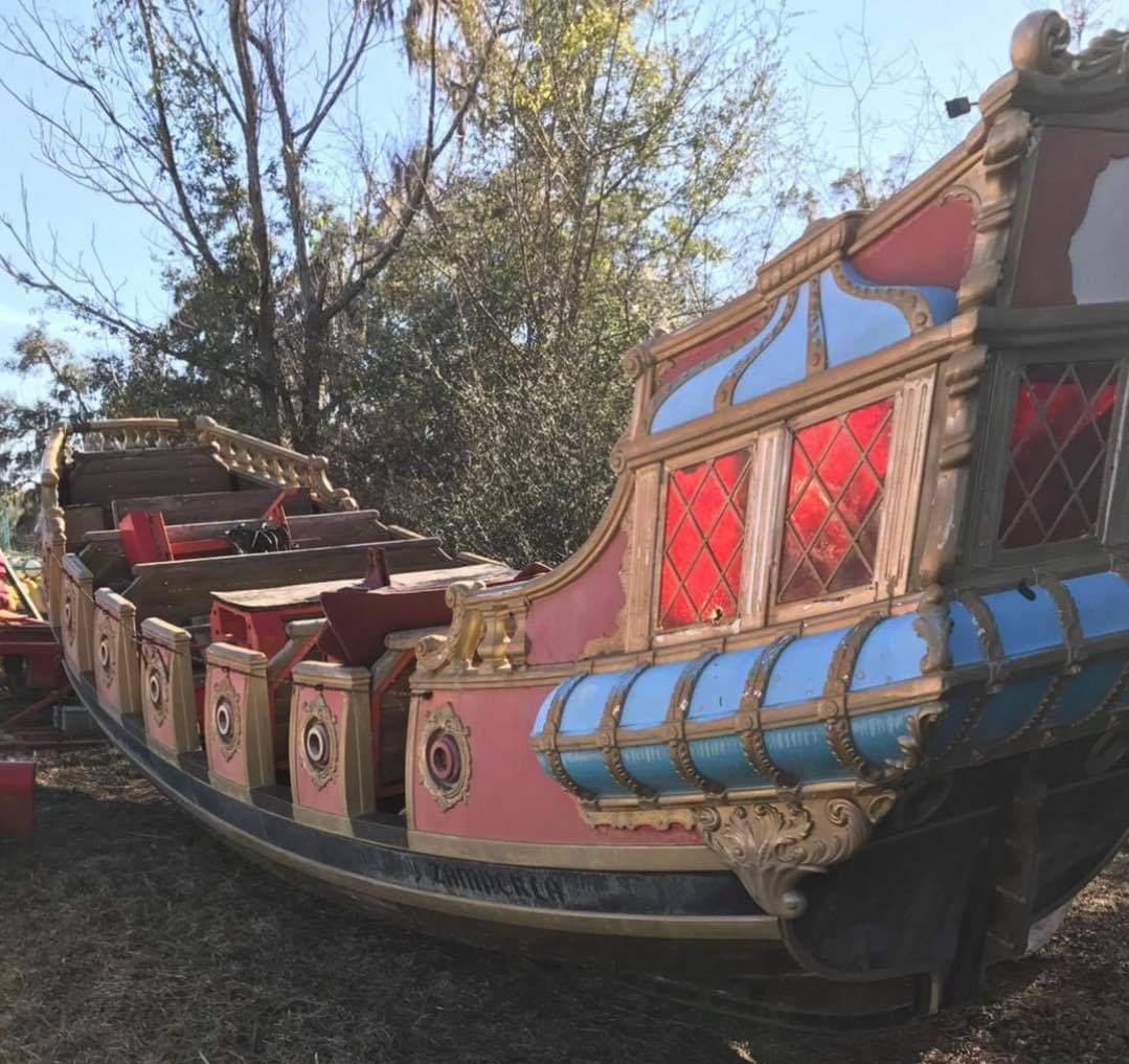 Interlink Used Ride : Pirate Boat FA31