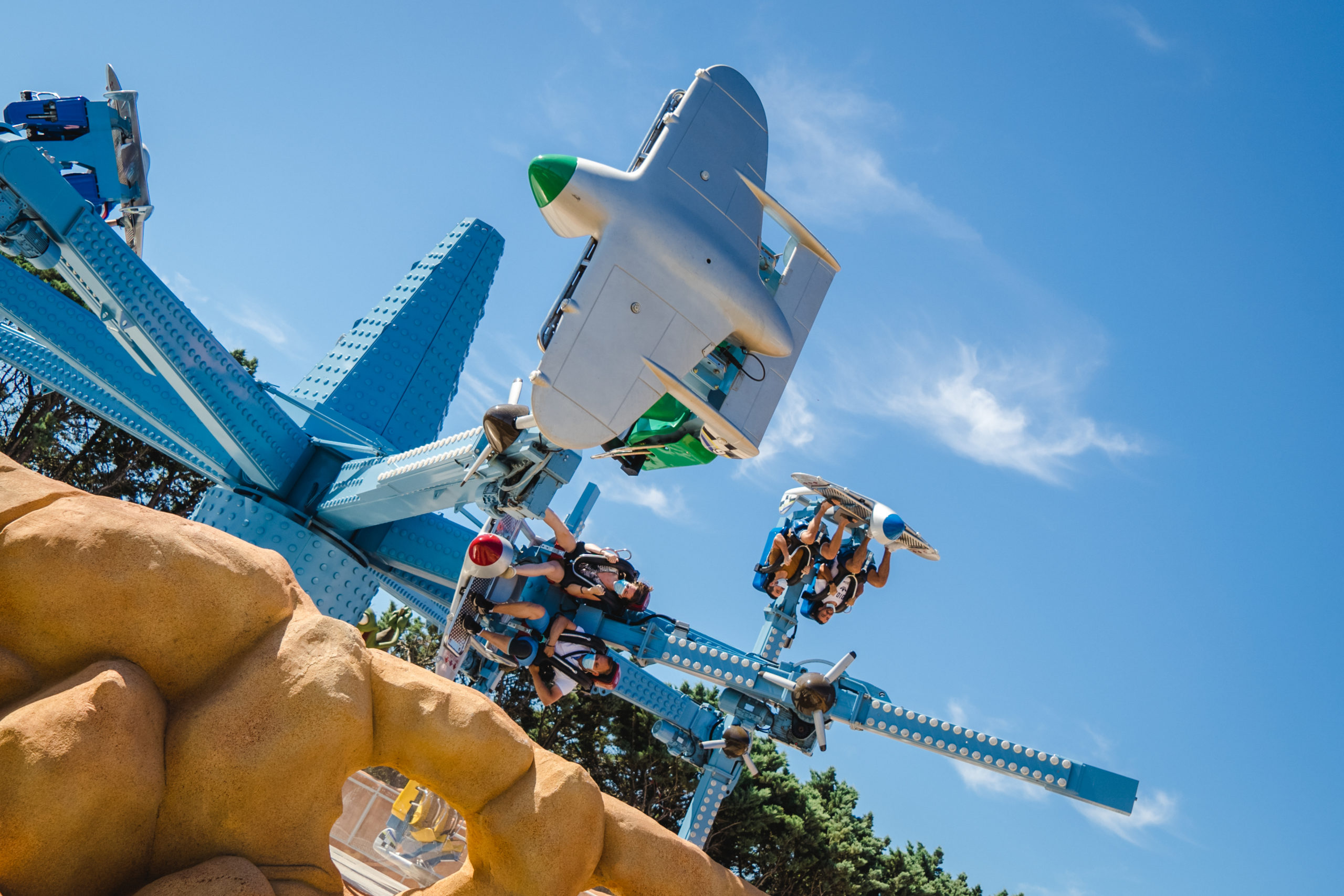 Interlink Blog cover : Why Used ride are great! Example Parc Spirou Blorks Ride