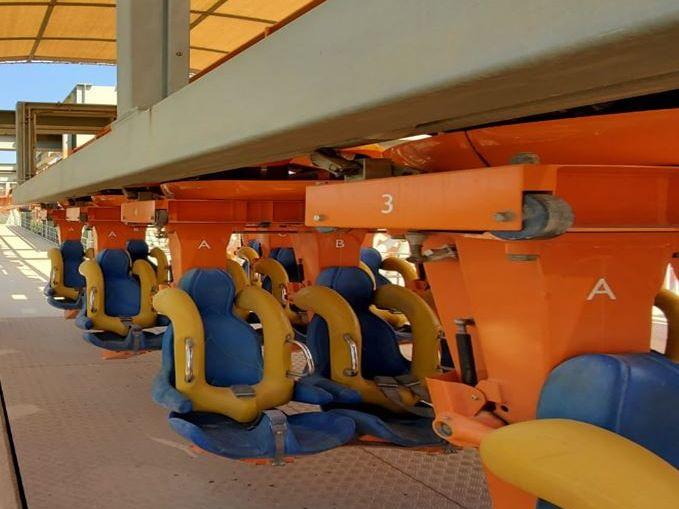 Interlink Used Ride : Inverted Coaster