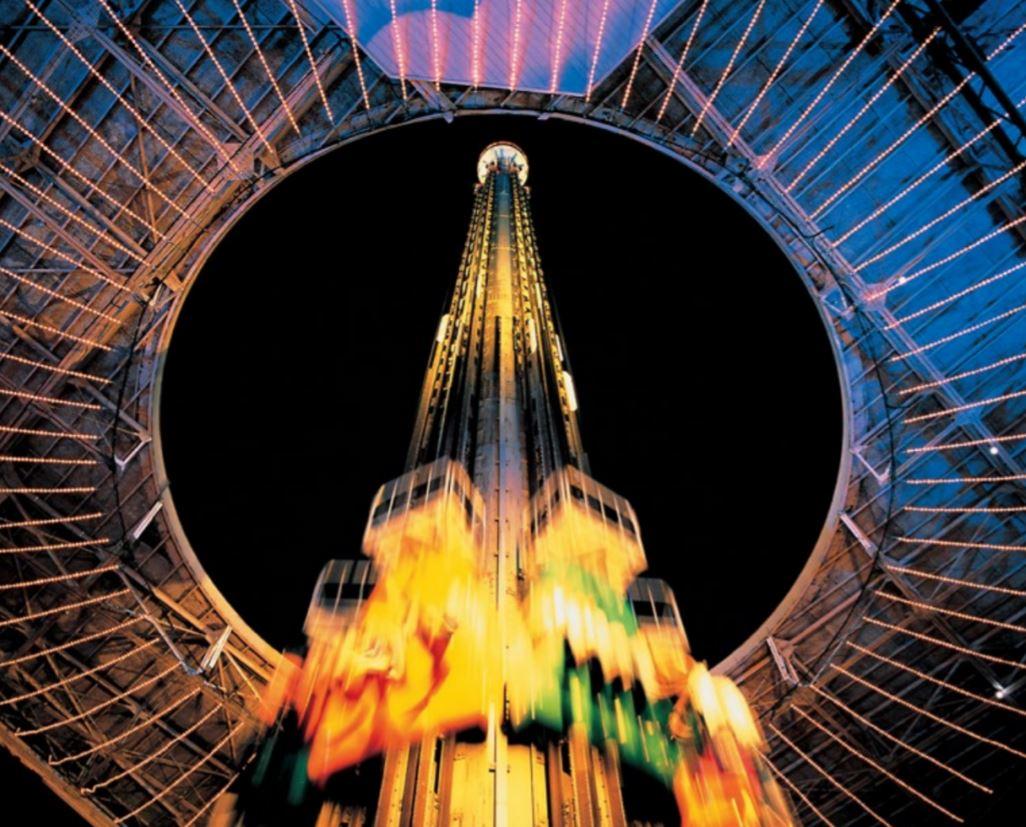 Interlink Used Ride : Drop Tower