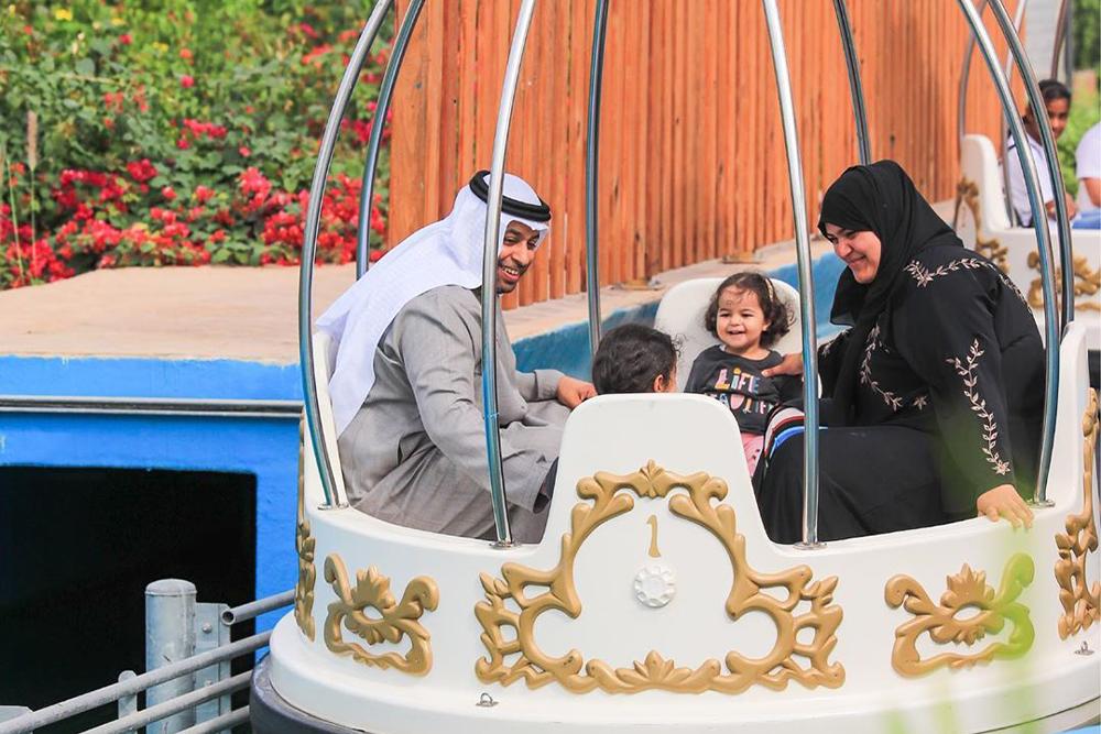 Interlink New Ride : Spin Boat Loch Ness at Al Montazah Park