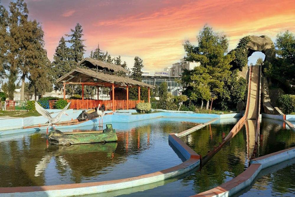 Interlink New Ride : Log flume Le Grand Splash at Hannibal Park Soukra Tunisia 5