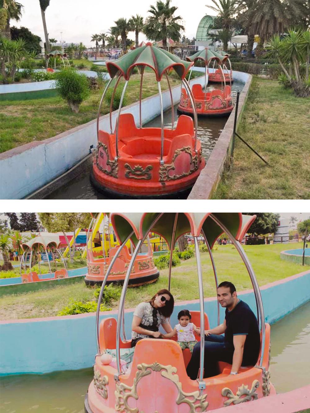 Interlink New Ride : Spin Boat La Riviere Enchantée at Hannibal Park Soukra 7