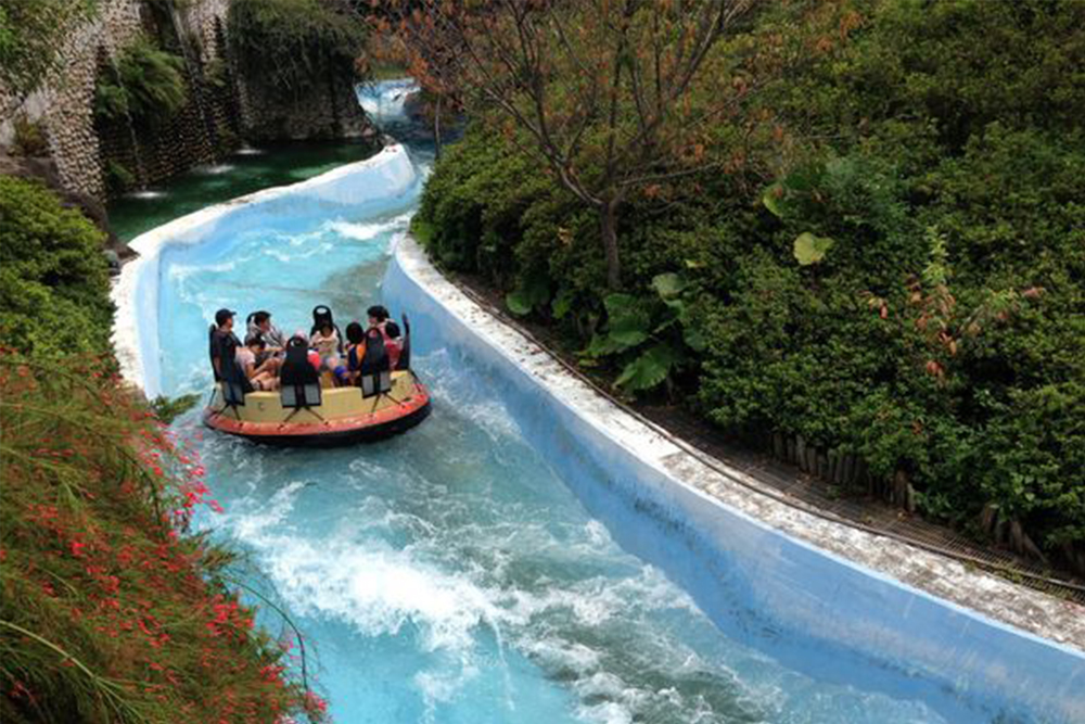 Interlink New Ride : Rapid River Jungle Rafting at Lihpao Land 10