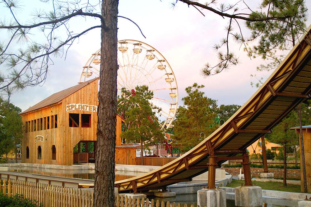 Interlink New Ride : Log Flume Splinter at Dixie Landin' 5