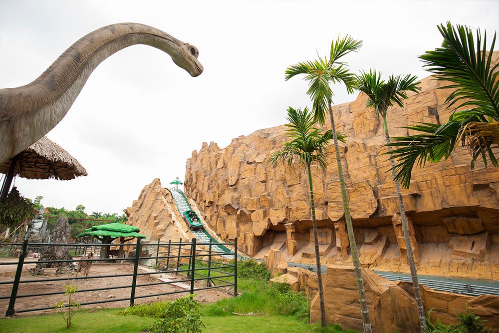Interlink New Ride : Superflume Safari Jungle Splash at BaoSon 4