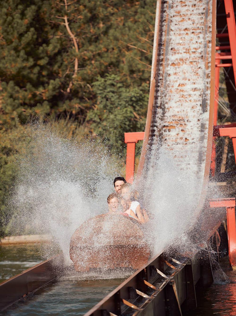 Interlink New Ride : Log Flume Drakkar at Walygator Sud-Ouest 2