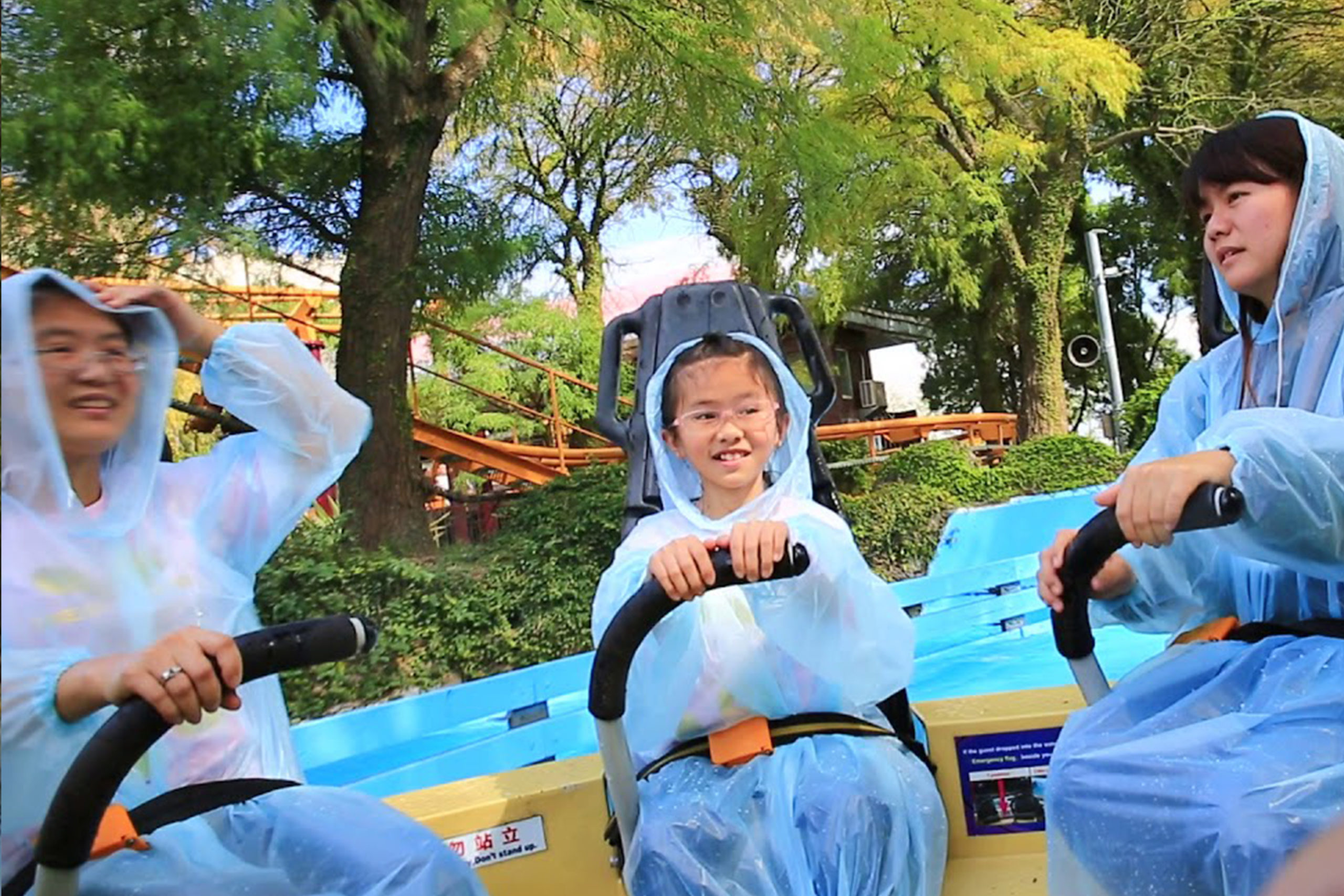 Interlink New Ride : Rapid River Jungle Rafting at Lihpao Land