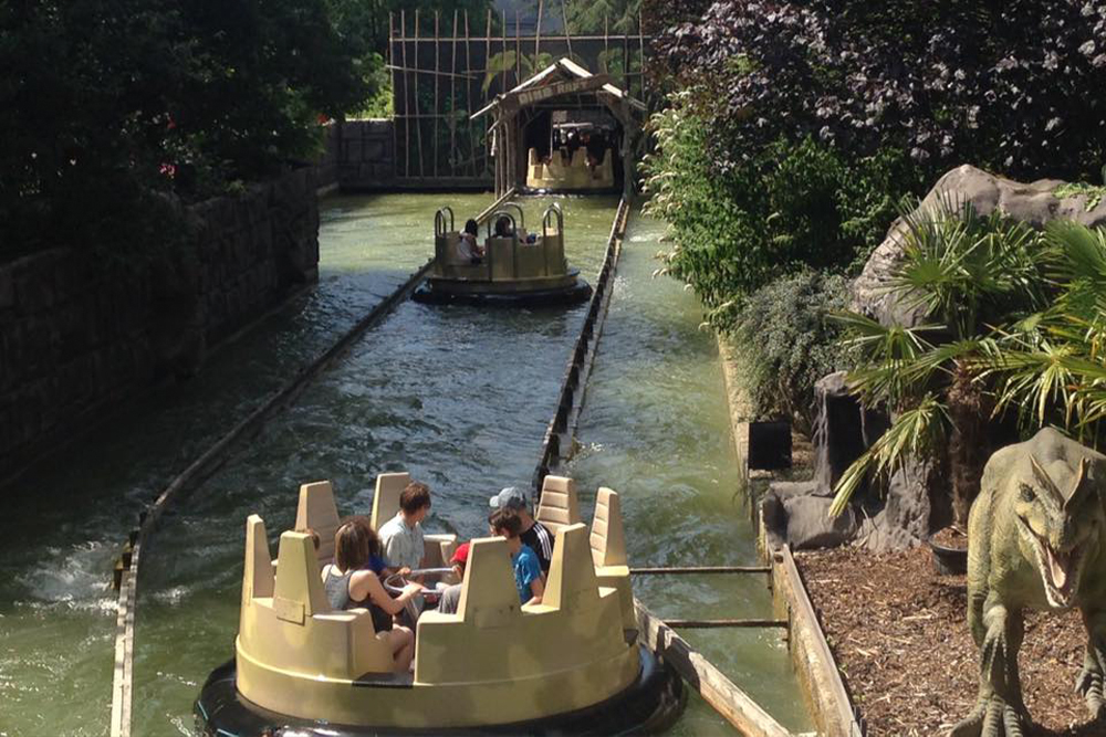 Interlink New Ride : Dino Raft at Walygator Park 8