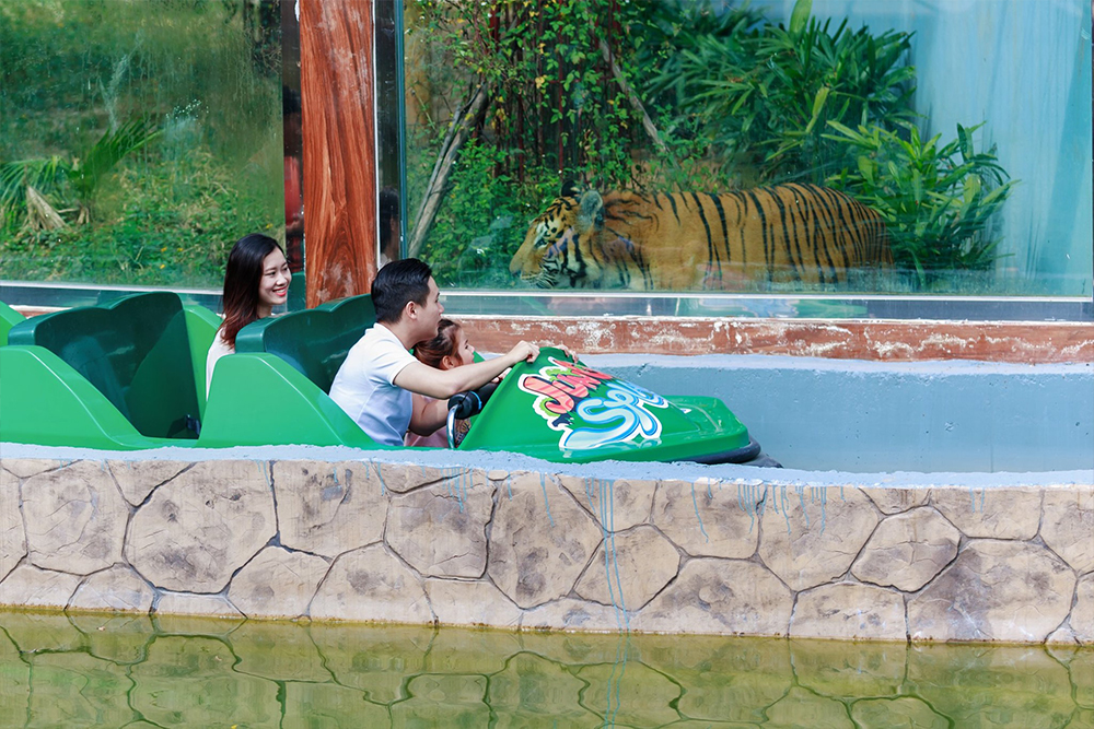 Interlink New Ride : Superflume Safari Jungle Splash at BaoSon 3