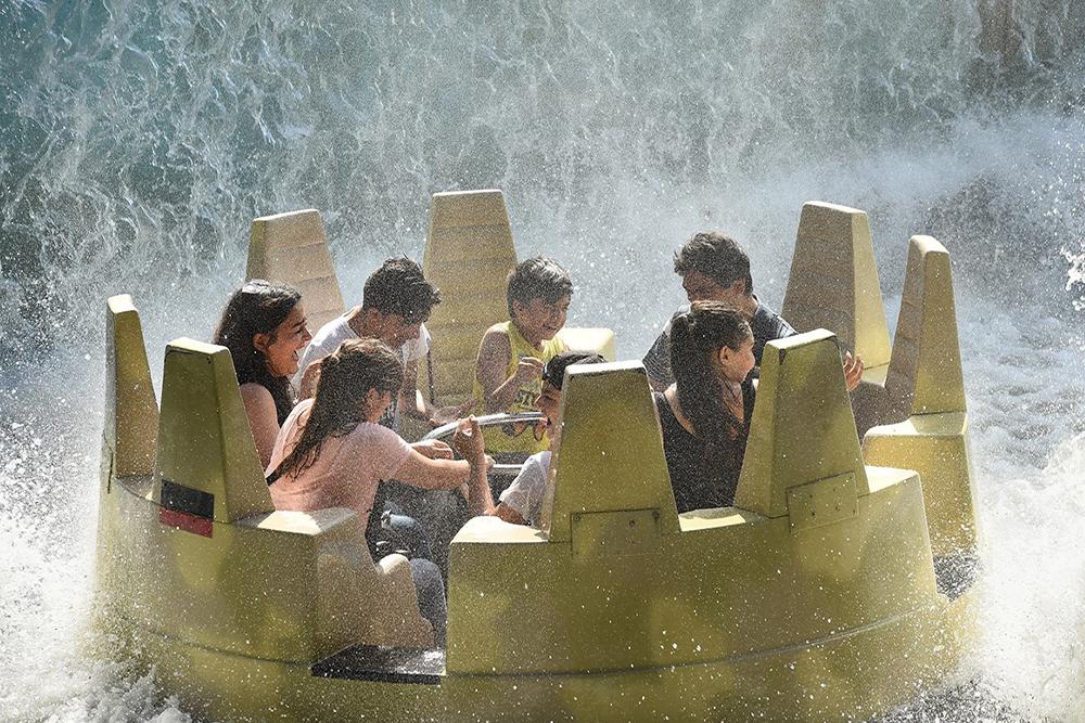 Interlink New Ride : Dino Raft at Walygator Park 7