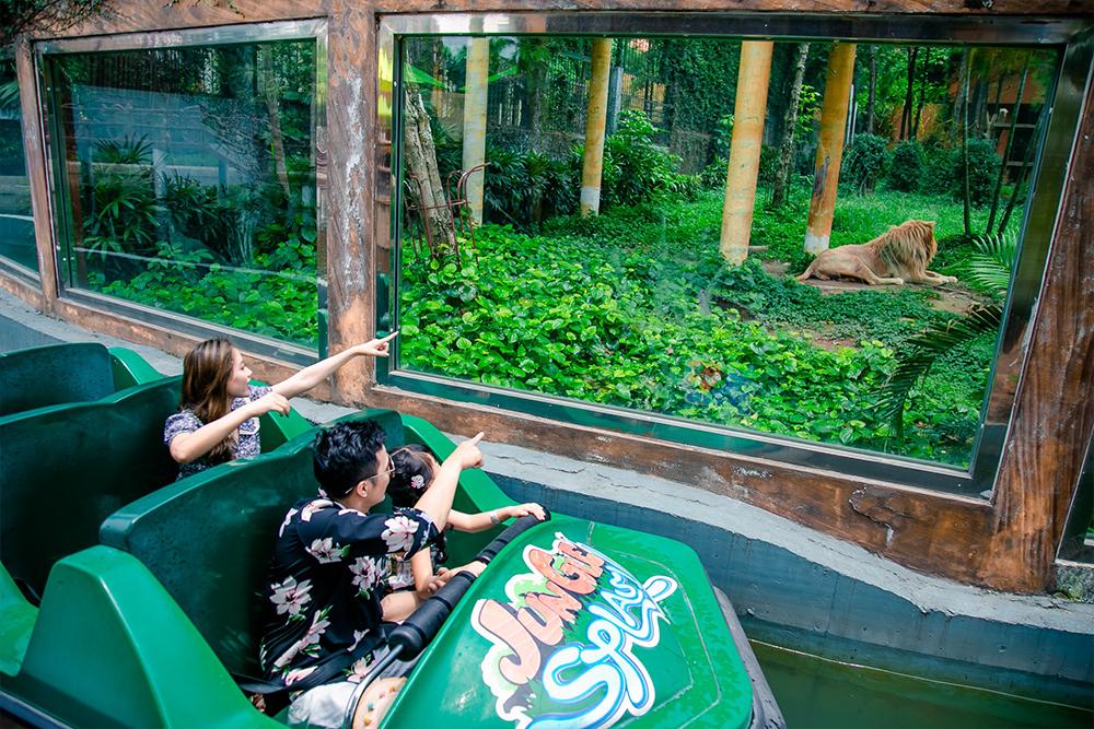 Interlink New Ride : Superflume Safari Jungle Splash at BaoSon 2