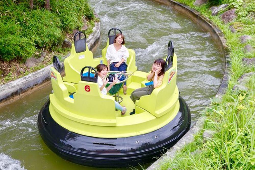 Interlink New Ride : Rapid River Adventure at Nasu Highland Park