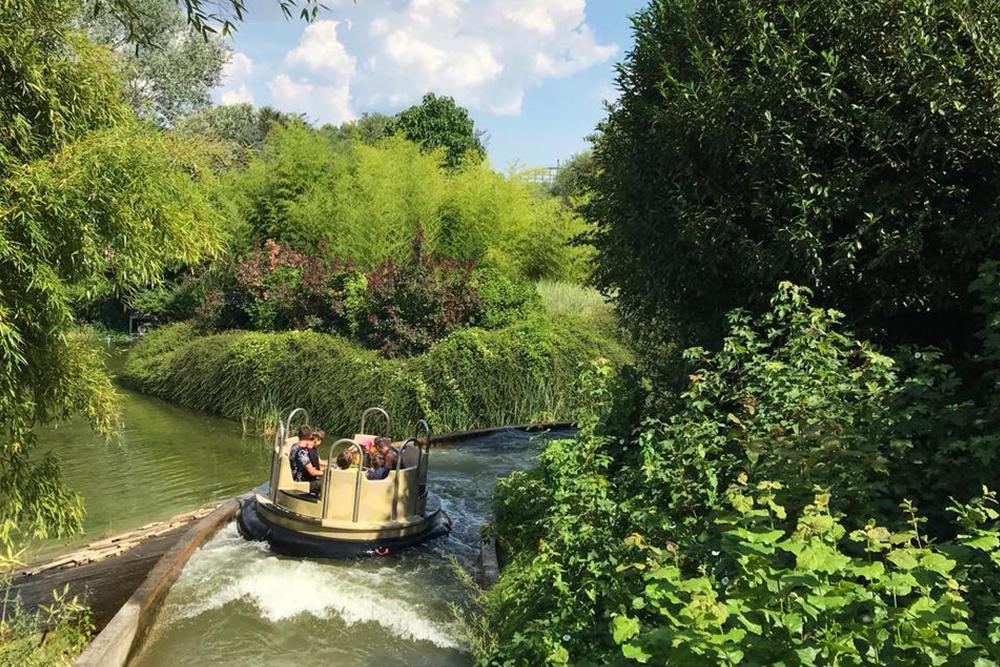 Interlink New Ride : Dino Raft at Walygator Park 5