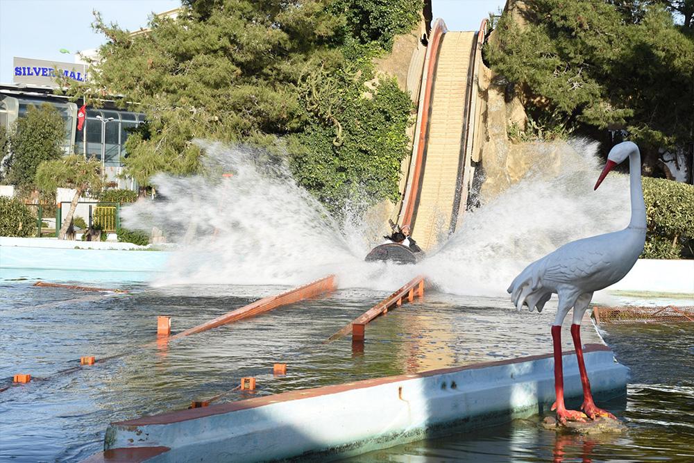 Interlink New Ride : Log flume Le Grand Splash at Hannibal Park Soukra Tunisia 4