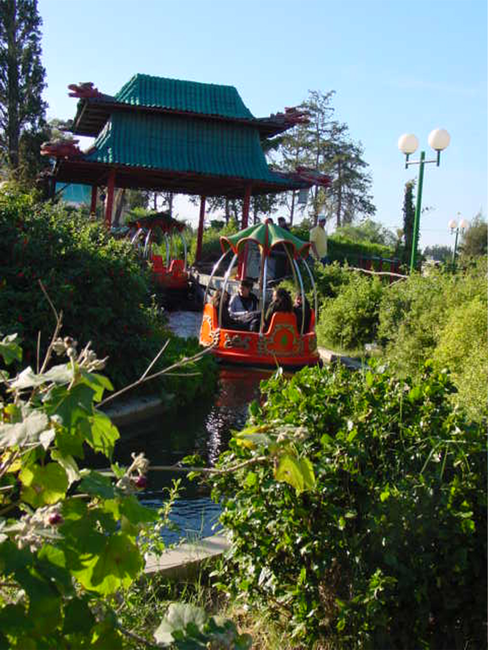 Interlink New Ride : Spin Boat La Riviere Enchantée at Hannibal Park Soukra 6
