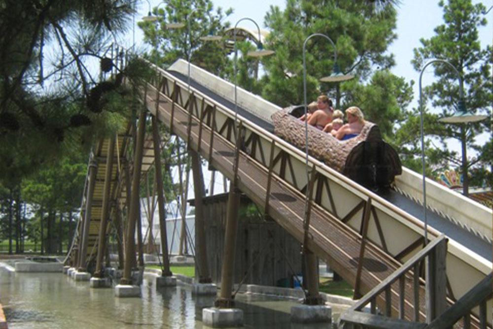 Interlink New Ride : Log Flume Splinter at Dixie Landin' 4