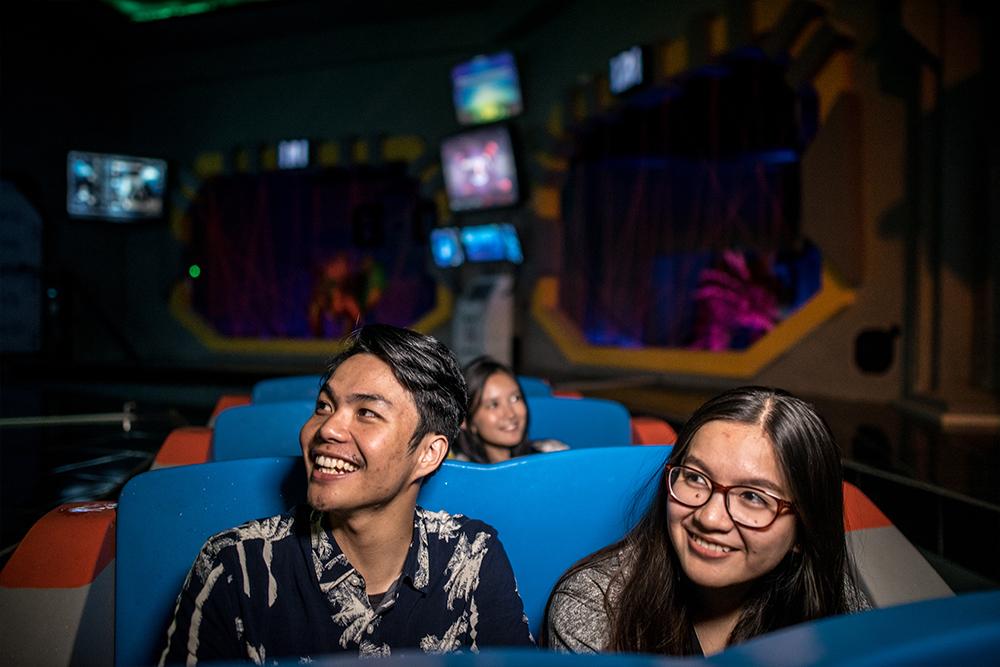 Interlink New Ride : Superflume Dark Ride Dino Action at Jawa Timur Park 3