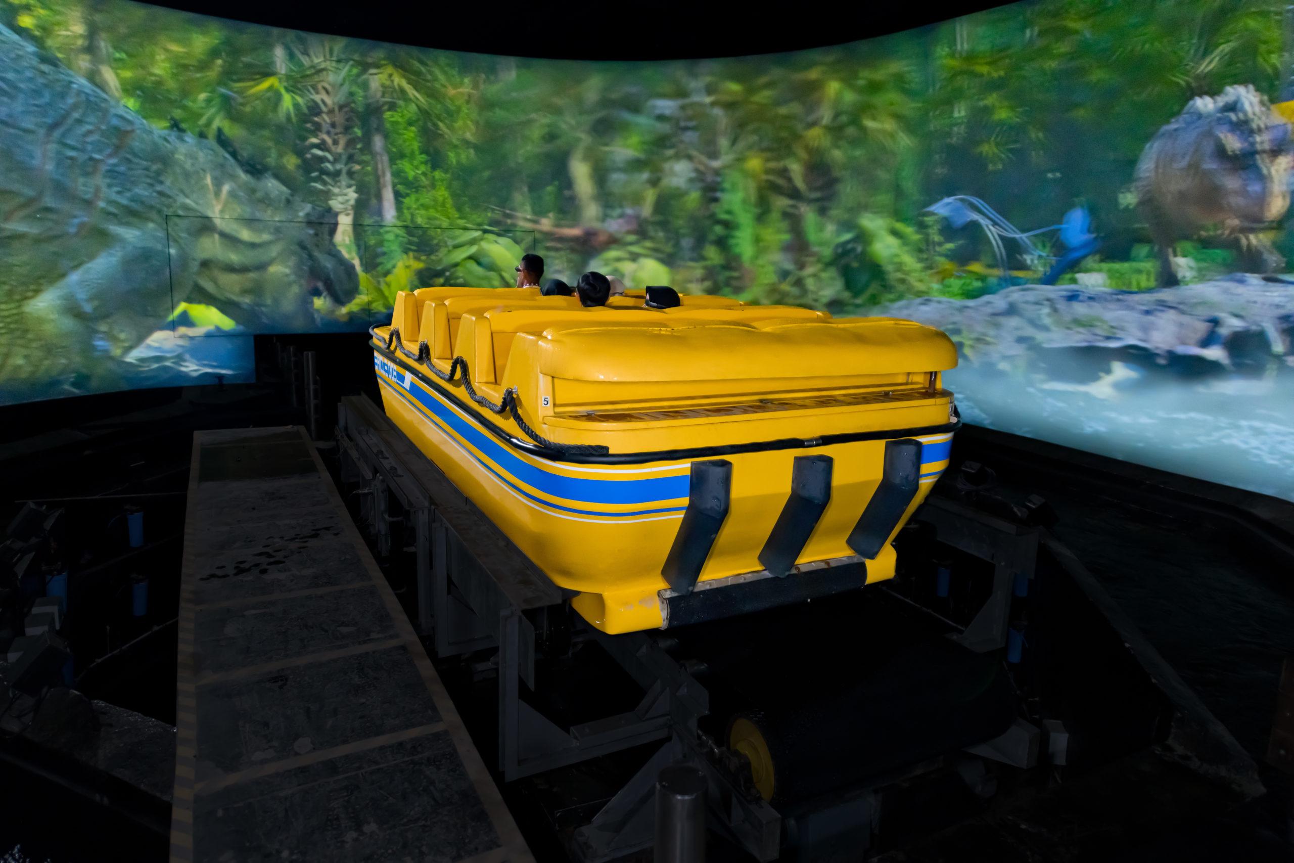 Interlink New Ride : Immersive Superflume Jurassic Island at Trans Studio Cibubur