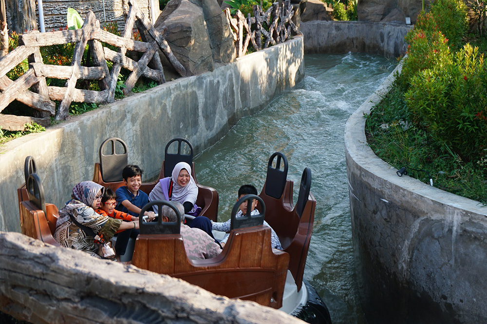 Interlink New Ride : Rapid River Salatiga at Saloka Park