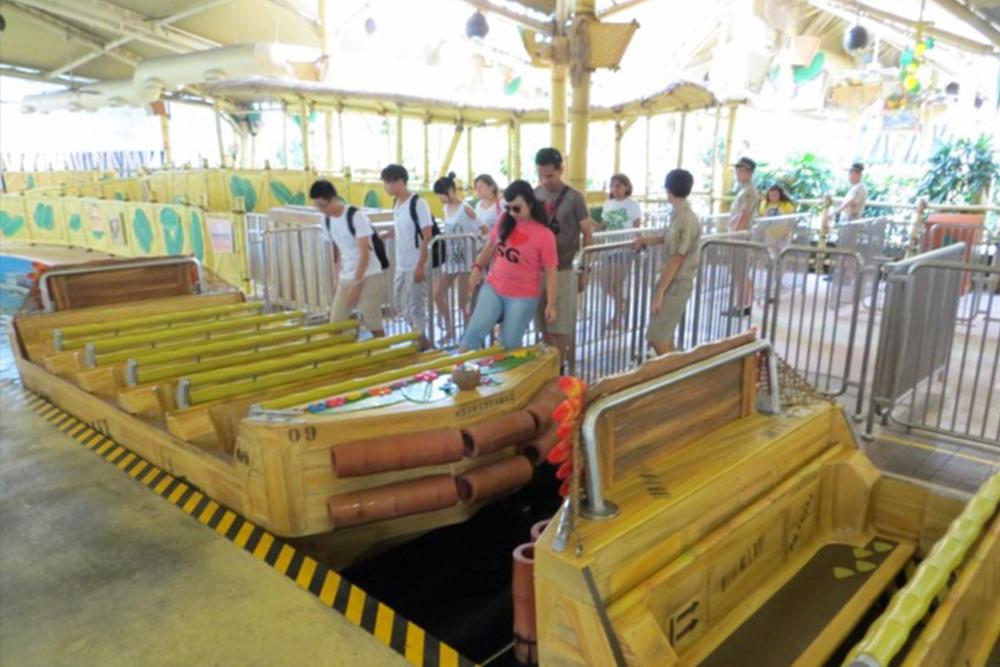 Interlink New Ride : Dark Ride A Crate Adventure at Universal Singapore 10