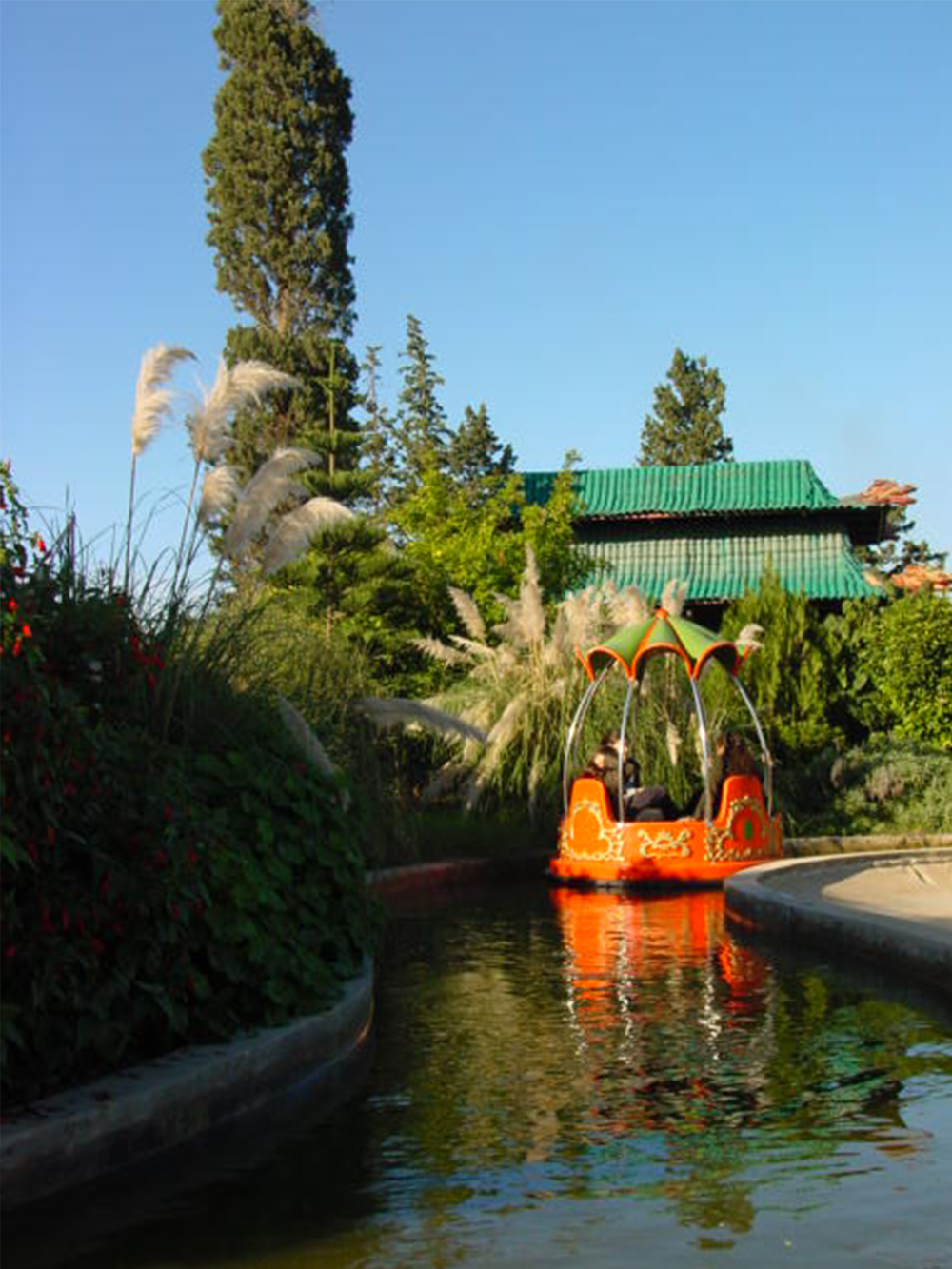 Interlink New Ride : Spin Boat La Riviere Enchantée at Hannibal Park Soukra 5