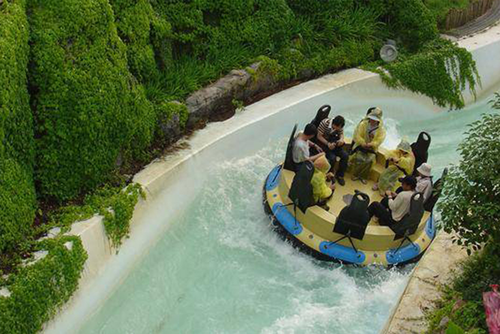 Interlink New Ride : Rapid River Jungle Rafting at Lihpao Land 8