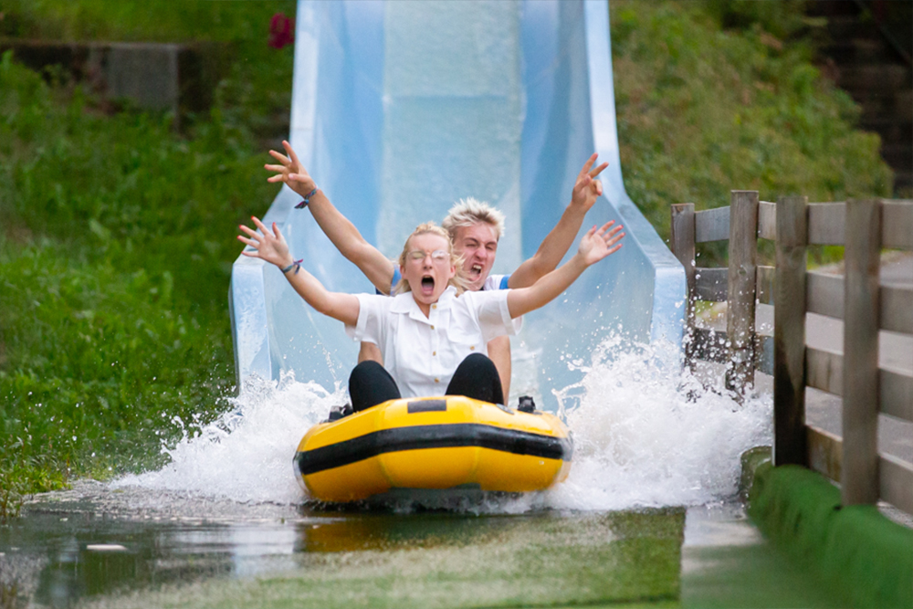Interlink New Ride : Aquafury Aquasplash at Ange Michel Park 6