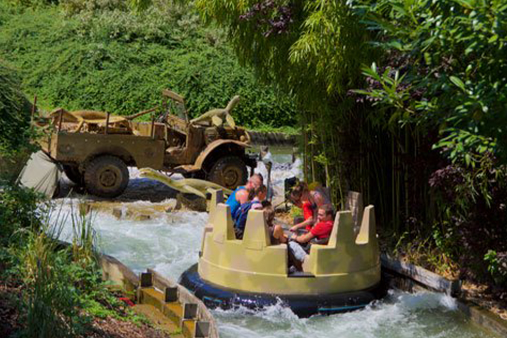 Interlink New Ride : Dino Raft at Walygator Park 16