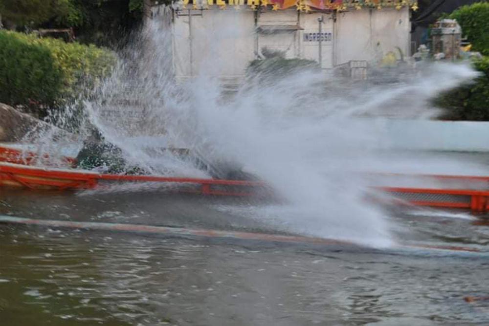 Interlink New Ride : Log flume Le Grand Splash at Hannibal Park Soukra Tunisia 2