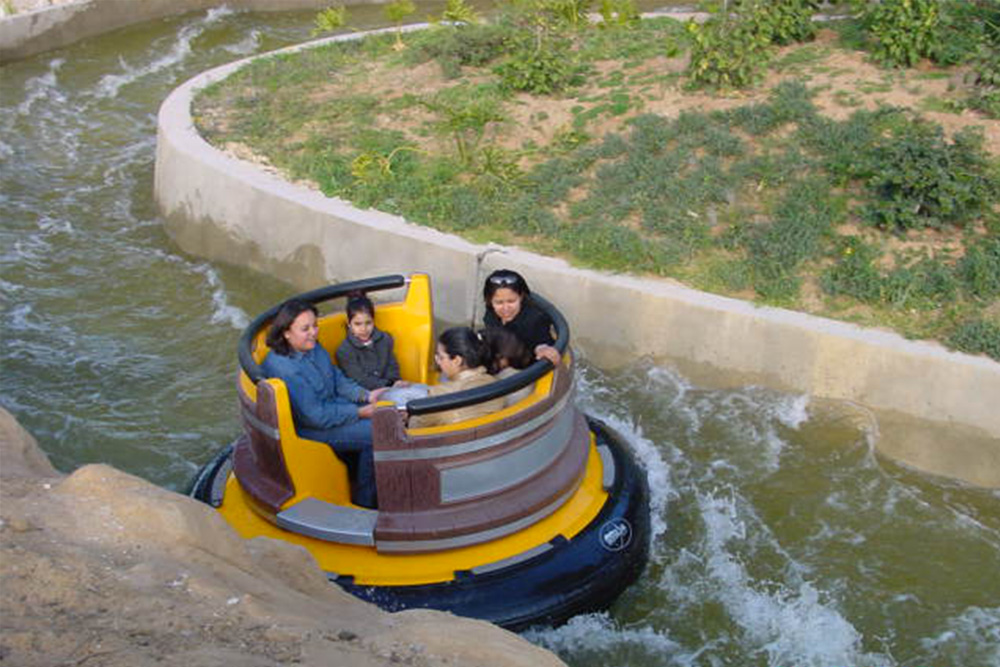 Interlink New Ride : Rapid River at Hannibal Park Soukra Tunisia 6