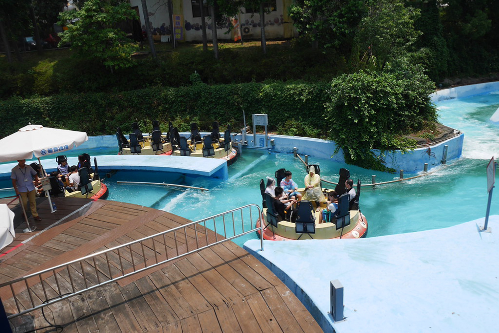 Interlink New Ride : Rapid River Jungle Rafting at Lihpao Land 7