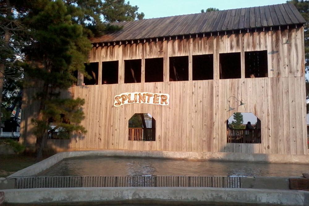 Interlink New Ride : Log Flume Splinter at Dixie Landin' 2