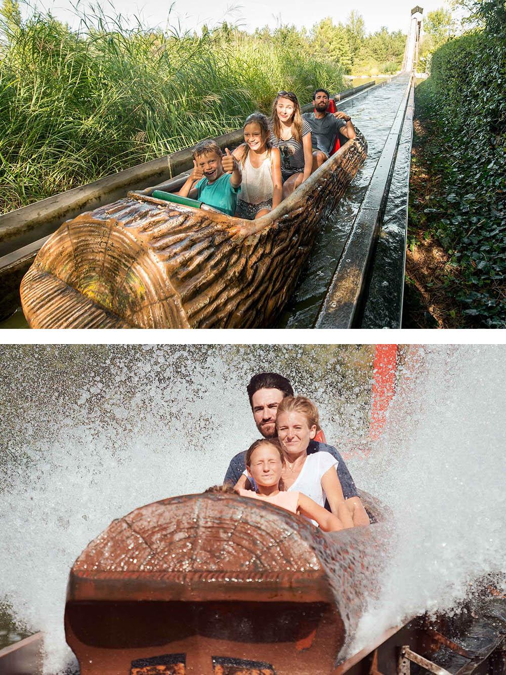Interlink New Ride : Log Flume Drakkar at Walygator Sud-Ouest 7