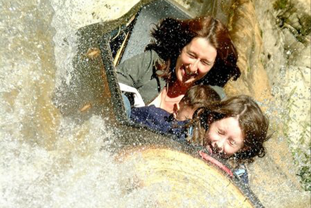 Interlink New Ride : Alpine Log Flume at Gulliver's World image 3
